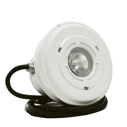 Прожектор галогенный Vagner Pool 823431 VA 50 Вт (под лайнер) с латунными вставками, фото 2