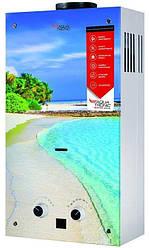 Колонка газовая проточная Акватерм JSD20-AG308 10 л стекло (пляж)