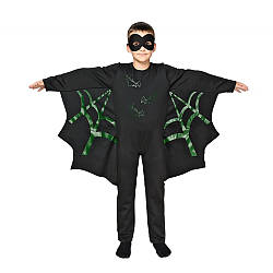 Детский карнавальный костюм ЛЕТУЧАЯ МЫШЬ для мальчика 5,6,7,8,9,10 лет новогодние костюмы супергероев