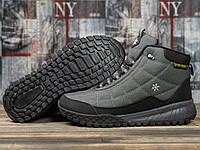 Зимние мужские кроссовки 30973, Supo Sport, темно-серые ( 45  )
