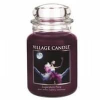 Ароматическая свеча Village Candle Сахарная слива (время горения до 170 ч)