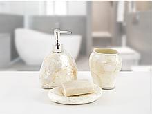 Комплект у ванну Irya - Псоріаз білий (3 предмета)