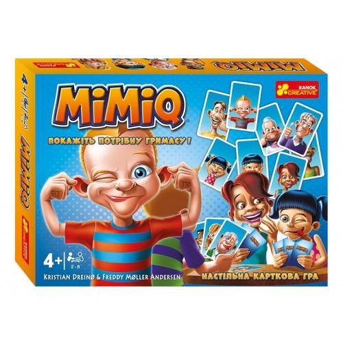 """Настольная карточная игра. """"Mimiq"""" (укр.) 19120055У"""