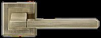 Дверные ручки LINDE A-2008 AB - старая бронза, фото 1