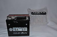 Аккумулятор 12V 4Ah кислотный (113х70х105) UTX5L-BS BATTERY