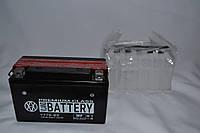 Аккумулятор 12V 6,5Ah кислотный узкий (150х65х93) YT7B-BS BATTERY