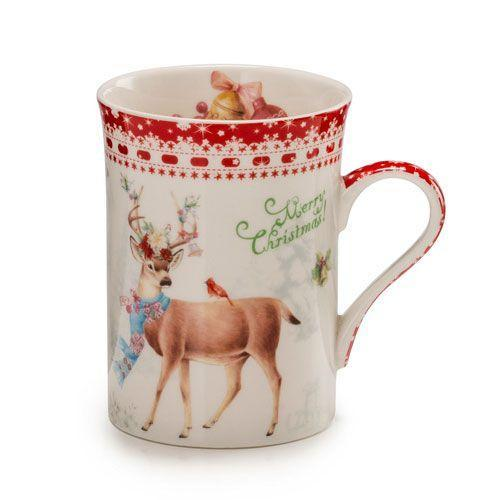 Чашка для чаю Італія Palais Royal Теплі вітання 250 мл (18156)