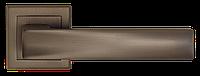 Дверные ручки LINDE A-2010 MBN - матовая темная сталь, фото 1