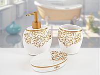 Комплект в ванную Irya  - Flossy белый (3 предмета)