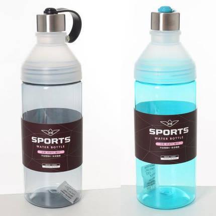 Бутылочка спортивная, 1000мл, 2 цвета, MS2189, фото 2