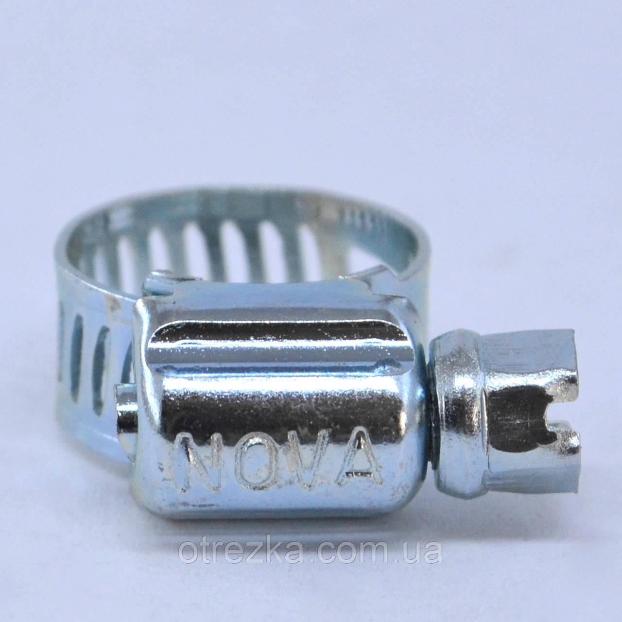 Хомут червячный  Nova (Хомут металевий черв'ячний) 32-51 мм