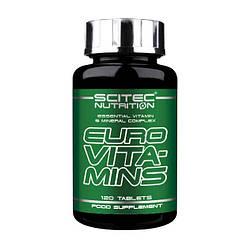 Вітаміни Scitec Nutrition Euro Vitamin 120 caps