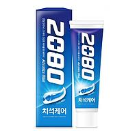 Отбеливающая зубная паста Aekyung 2080 Advance Blue Toothpaste Scrub Essence 120g, фото 1