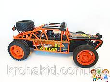 Спортивная машинка багги на радиоуправлении, аккумулятор, 2WD, резиновые колеса, плавный ход YED1702, фото 3