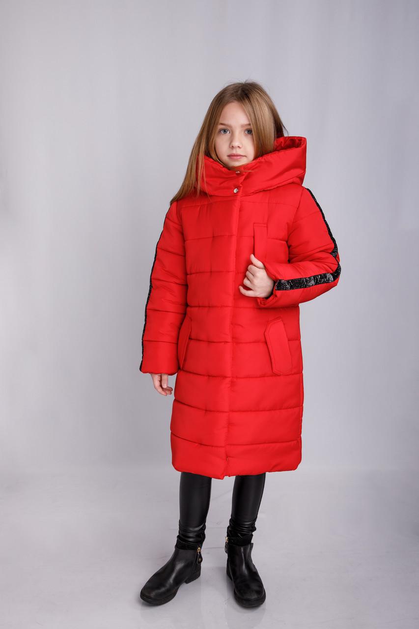 Зимнее пальто на девочку Жаклин