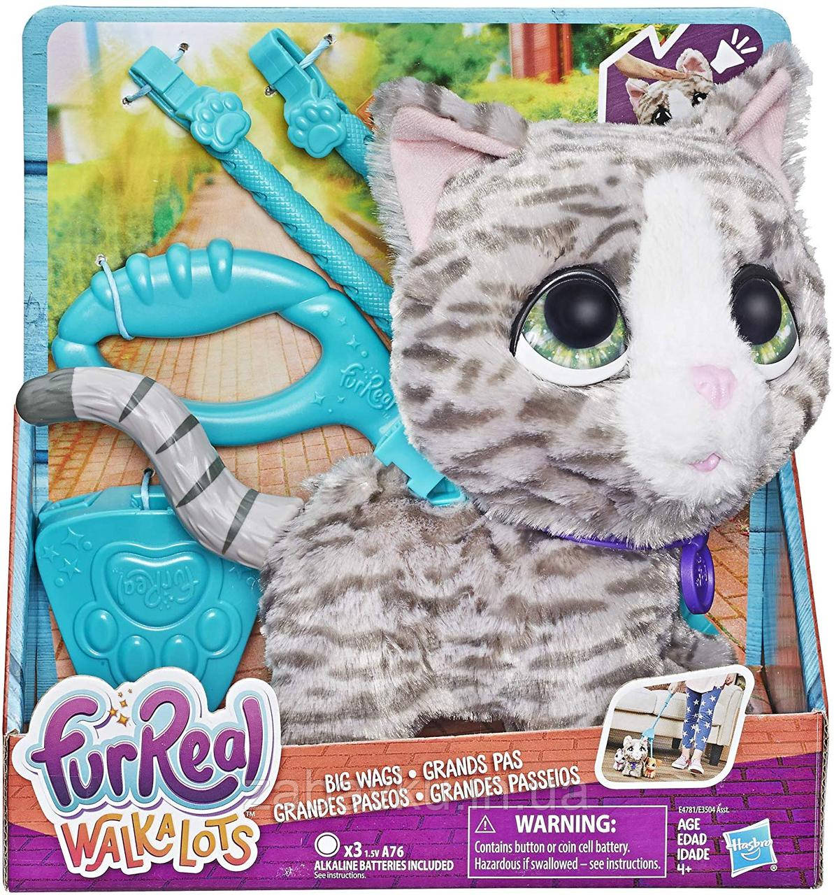 Інтерактивне кошеня Фурріал Хасбро FurReal Walkalots Big Wags, Kitty