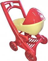 Коляска для кукол 0121/03 Игрушечная коляска для девочки для кукол!