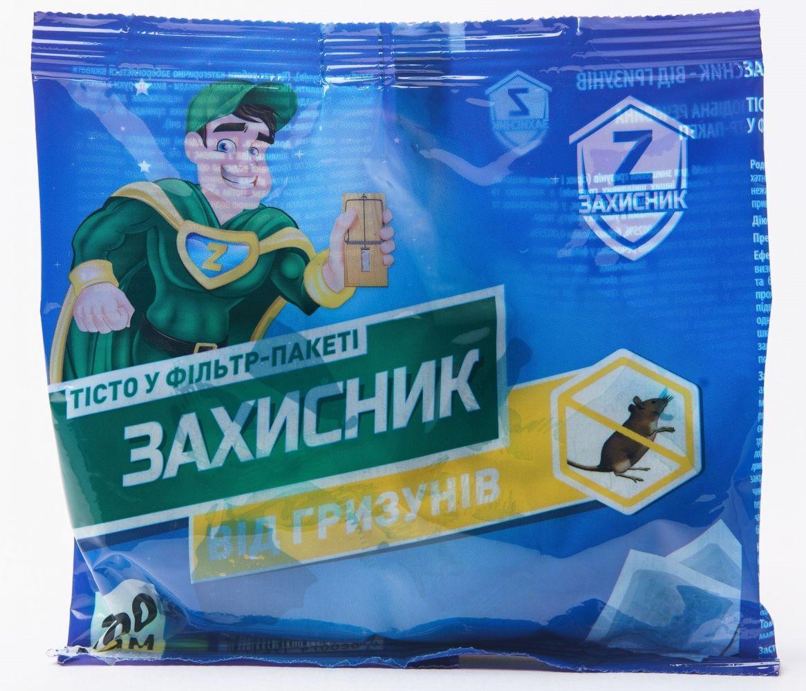 Захисник тістоподібна принада від гризунів (200 гр)