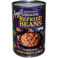 Фасоль пинто с зеленым чили, Mild, Amy's, 437 г