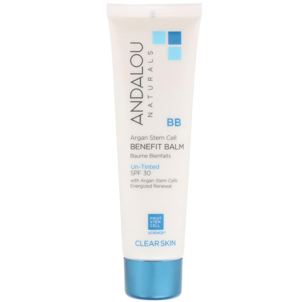 Сонцезахисний крем з SPF30 для жирної шкіри, Andalou Naturals, (58 мл)