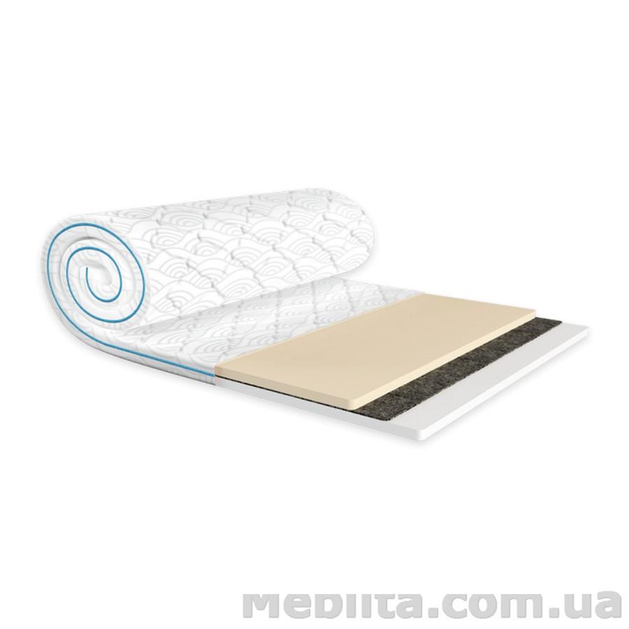 Мини-матрас Sleep&Fly mini MEMO 2в1 FLEX жаккард 90х200 ЕММ