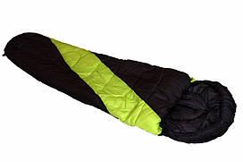 Спальный мешок кокон -21 градус Adventuridge Mumien Schlafsack салатовая вставка