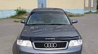 Дефлектор капота  Audi A6 1997-2004, Мухобойка Audi A6