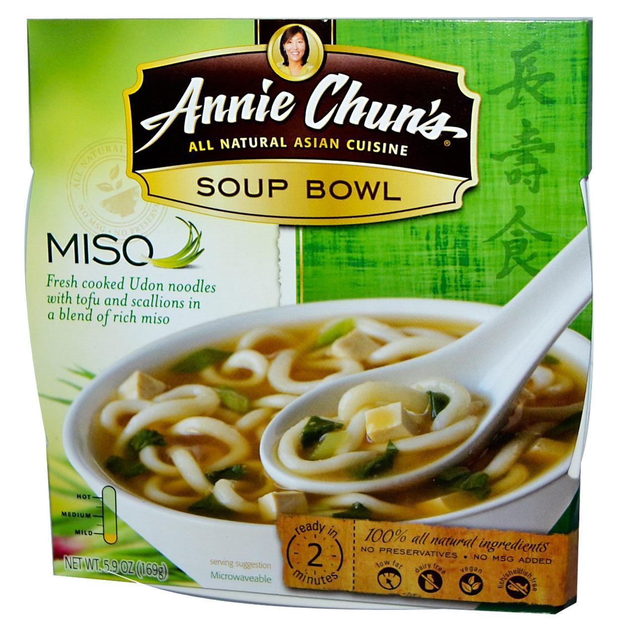Суп мисо с тофу (Mild), Annie Chun's, 169 г