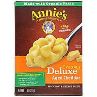 Annie's Homegrown, Делюкс обед. Ракушки с соусом из сыра чеддер 11 унции (312 г)