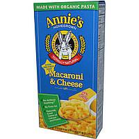 Annie's Homegrown, Макароны с сыром, 6 унций (170 г)