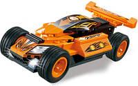 Конструктор C0302A гоночная машина,инер-я,рез.колеса,от 55дет,в кор-ке,23-14-4,5см, фото 1