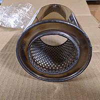 Пламегаситель коллекторный 128/160 , вставка вместо катализатора в коллектор 128/160 (диаметр/высота) нержавейка