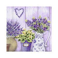 Салфетки декупажные 33*33см 17,5г/м2 344618 Панно цветы