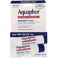Лечащая мазь, защита для кожи, Aquaphor, 10 г