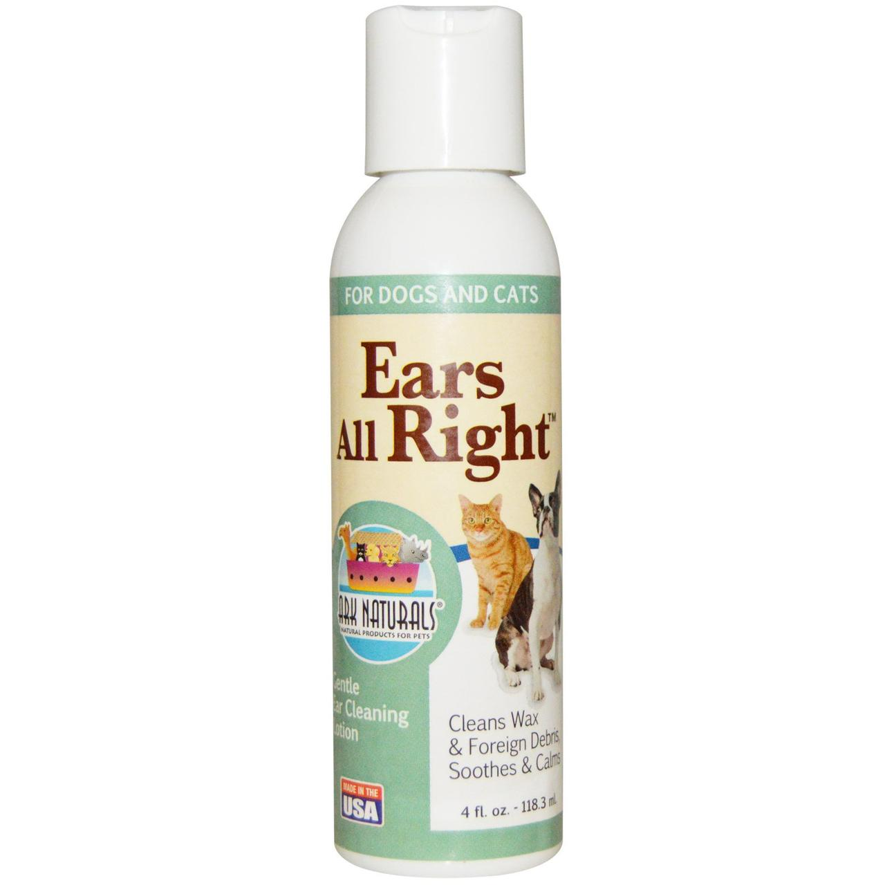 Лосьон для мытья ушей у животных, Ark Naturals, 118,3 мл