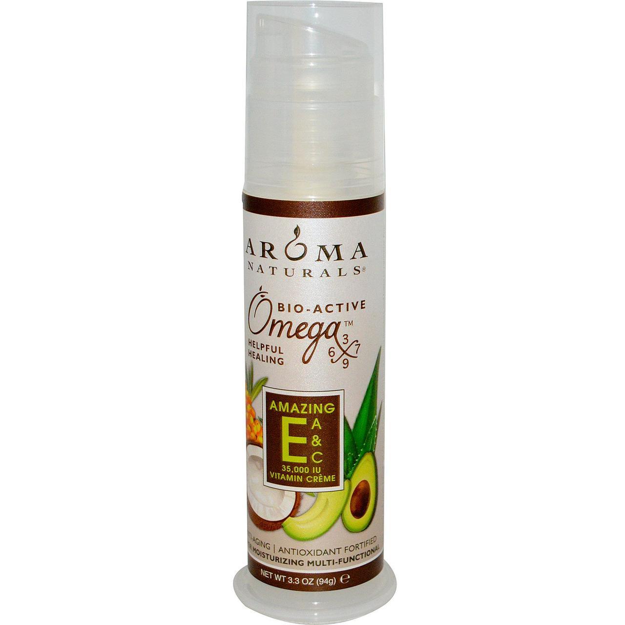 Многофункциональный крем с витаминами Е, А и С, Aroma Naturals, 94 г