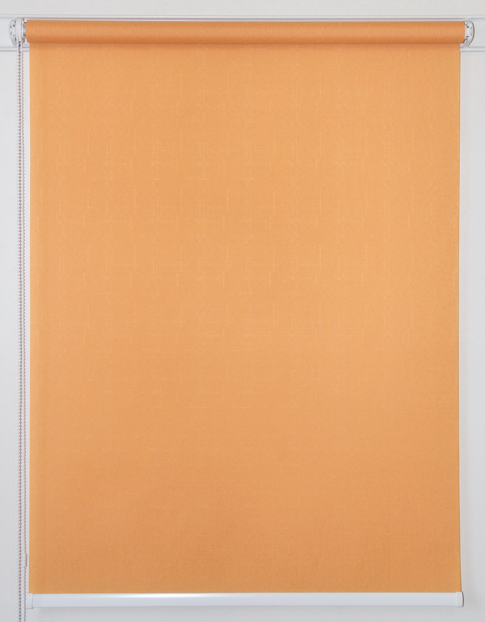 Рулонная штора 300*1500 Лён 852 Оранж