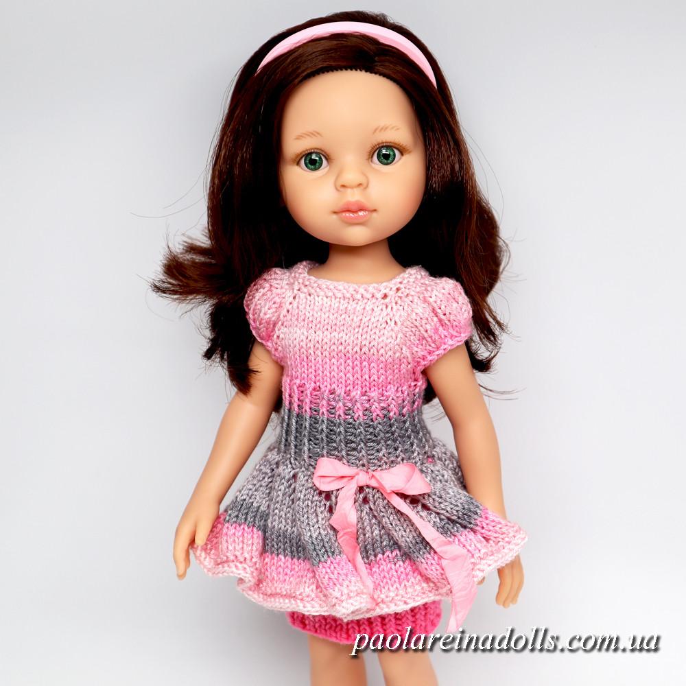 """Платье """"Модница"""" для кукол Паола Рейна"""