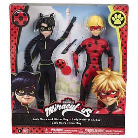 Набор кукол Miraculous Lady Noir и Mister Bug серии Леди Баг и Супер Кот 39814