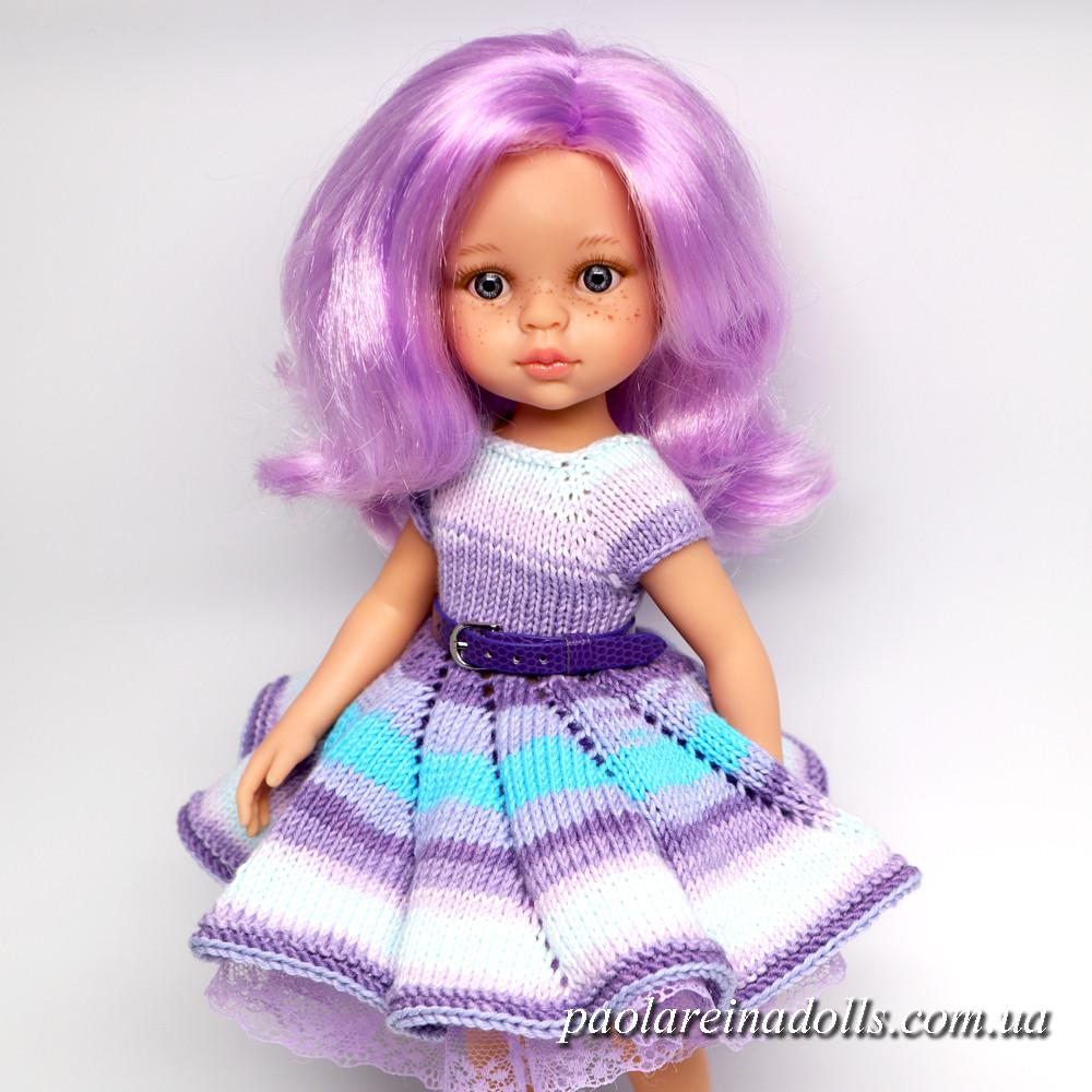 """Платье """"Сиреневый туман"""" для кукол Паола Рейна"""