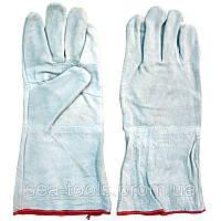 Перчатки для сварки плотные Краги Код: 963730