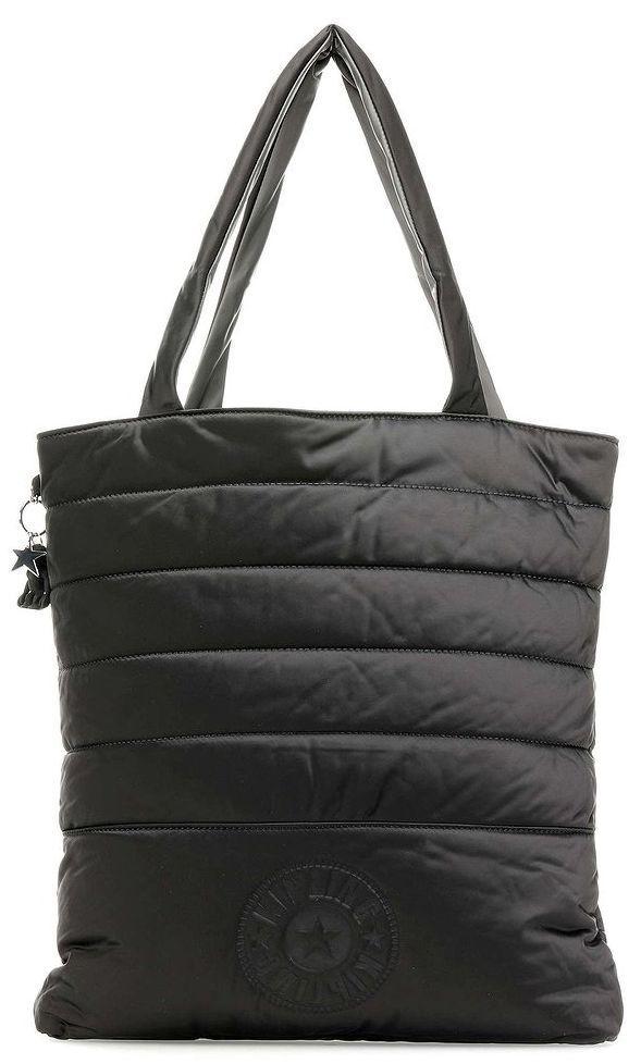 Тканевая сумка Kipling Puff Draw + черный