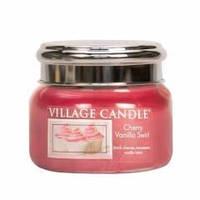 Арома свеча Village Candle Вишнево-ванильный вихрь (время горения до 55 ч)