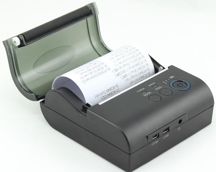 Термопринтер чеків міні MJ-5890 Bluetooth (Android)