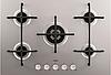 Варочная поверхность AEG HG 755420 UM (газовая поверхность, 5 конф. серебристый)