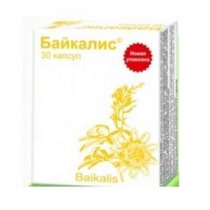 Байкалис седативну, снодійну, капсули №30