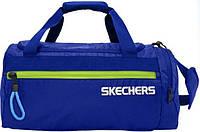 Удобная дорожная сумка в спортивном стиле 24 л.SKECHERS Speed Walker 76703;49 синий