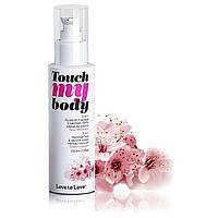Массажный гель и смазка 2-в-1 Love To Love TOUCH MY BODY Cherry Blossom (100 мл) - Массажные масла и кремы