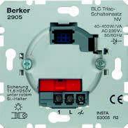Электронная вставка Triac выключателя BLC НВ, 40-400Вт, 230В Berker