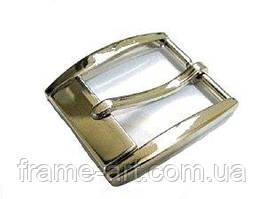 3540 Пряжка ремінна 3,5 см 826-026 нікель